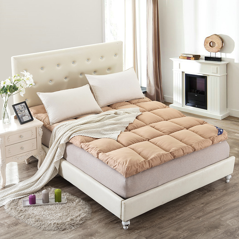 Dorota/duo luota textile thicker mattresses jsh m bed single double bed mattress pad is student dormitory