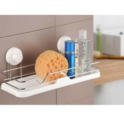 Double celebration bathroom shelving sucker toilet bathroom shelf bathroom wall hanging storage rack free punch