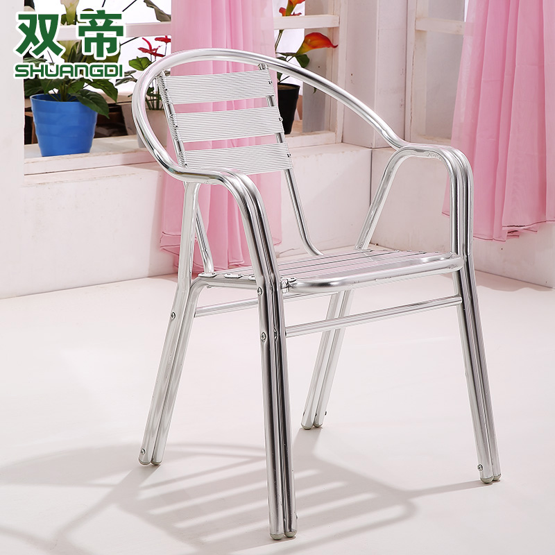 Get Quotations · Double Emperor Outdoor Aluminum Tables And Chairs Teahouse  Restaurant Hotel Restaurant Patio Lounge Chair Aluminum Chair