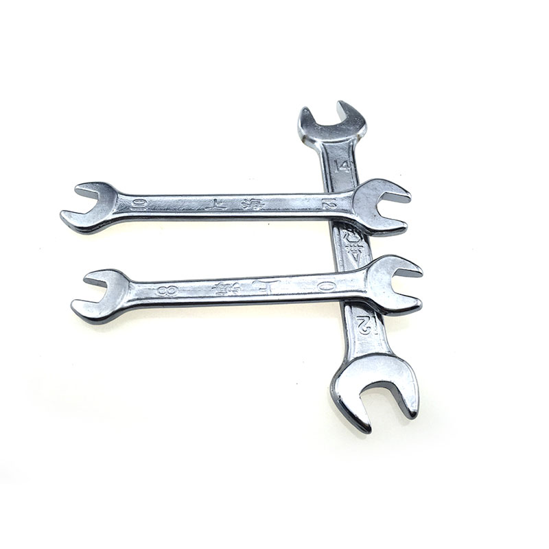 Double single spanner wrench dual opening wrenches 8-10-12-14-17-19-22- 24-27-30-32