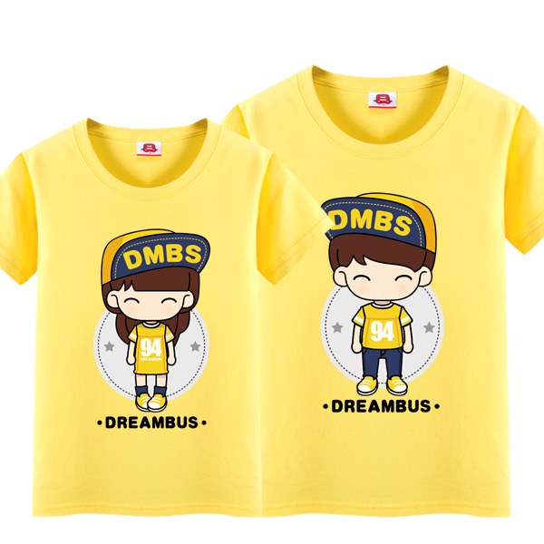 Dream bus 2016 summer new wedding photo girlfriends installed lovers cotton short sleeve t-shirt dblove 016