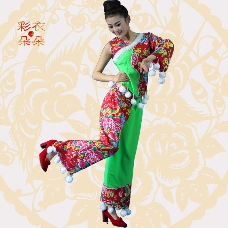 Dreamcoat blossoming boutique sleeveless shanghai han ethnic dance classical dance performance clothing costumes women 6176