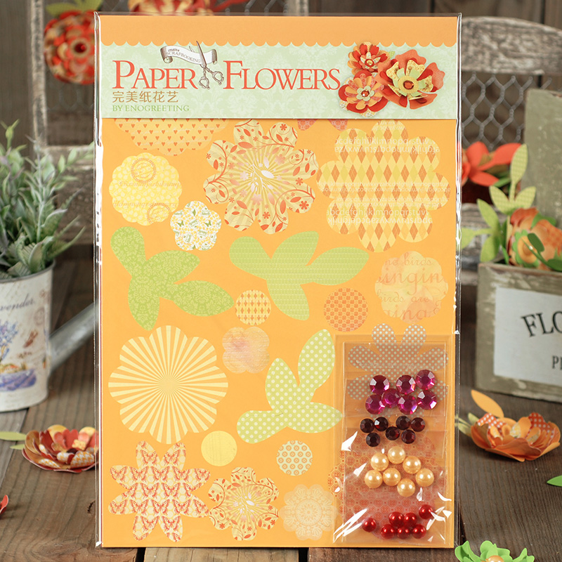 Dreamday festive gift handmade paper art creative home diy material package perfect floral paper sfp