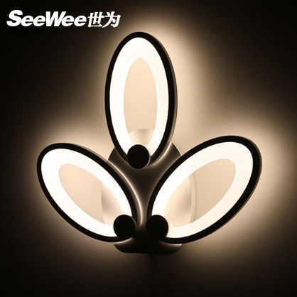 Dual personality led ceiling lamp wall lamp creative led lighting living room hall office den bedroom lighting
