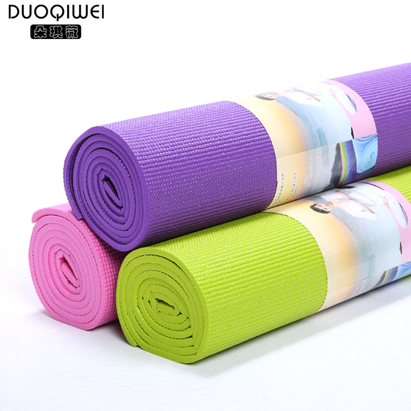 Duo qi jorvi thick 8mm slip yoga mat yoga mat backpack send special offer summer slip thick high resilience
