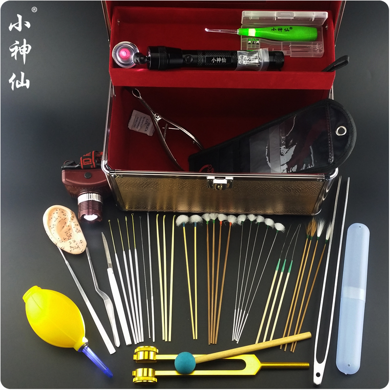 Ear little fairy professional tool kit tool kit 40 sets of ear pick taoer duo tool ear division dedicated
