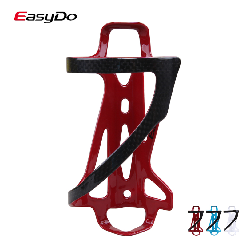 Easydo reionized by carbon fiber bottle cage rugged taiwan pure carbon woven structure