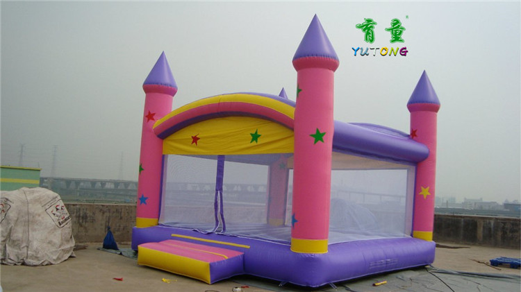 Educating children small children's indoor trampoline inflatable castle fort naughty high slides home trampoline jumping bed jumping bed