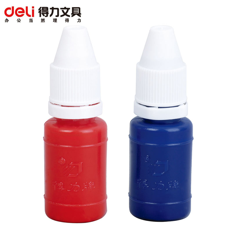 Effective atomic red ink 10 ml applicable stamp pad inks drying ink stamp accounting dedicated 9873