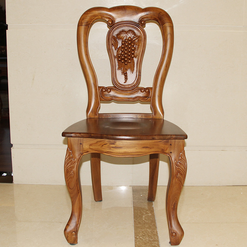 Emperor Pomelo Grapefruit Dining Chair Carved Rose Old Teak Chairs Of European Furniture