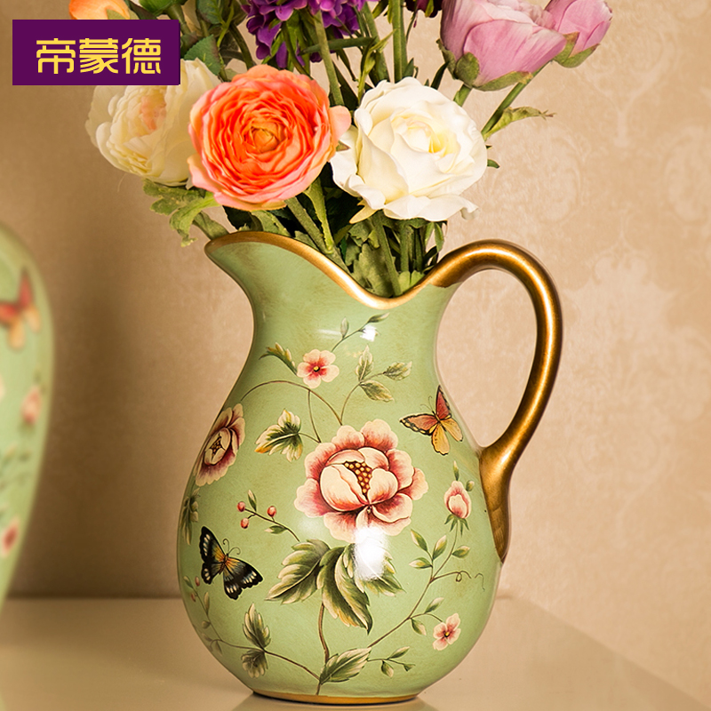 Emperor richmond ceramic vase vintage european and american style country garden home accessories living room coffee table tv cabinet ornaments