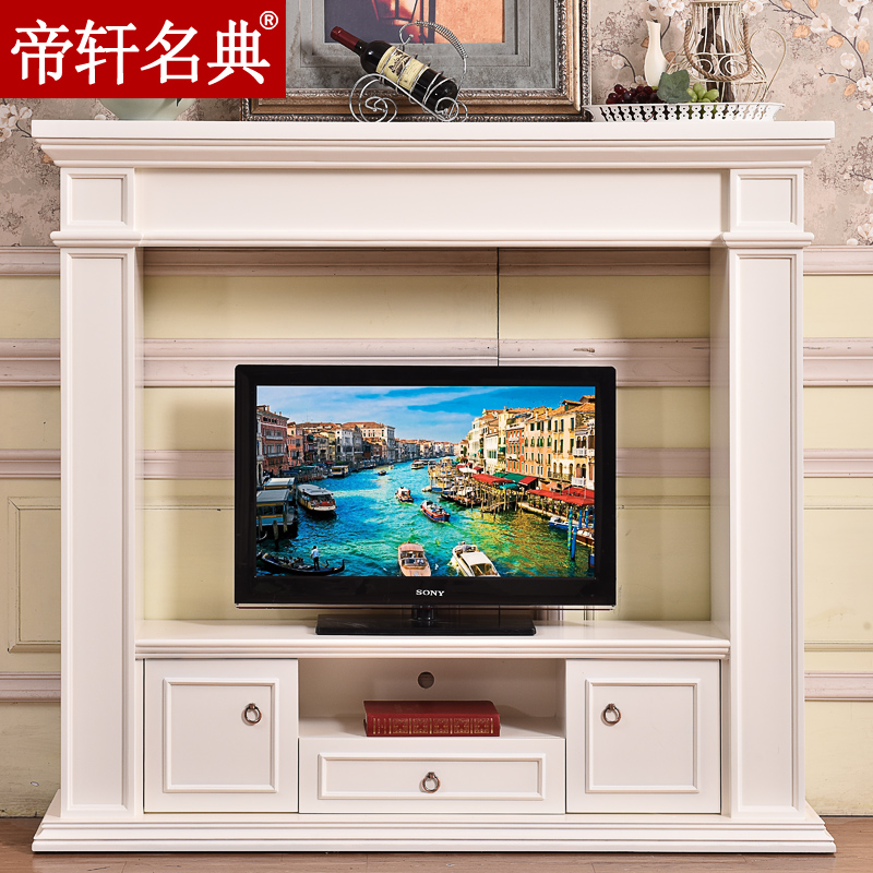Emperor xuan code 1.6 m/2 miou fireplace curio american tv cabinet tv cabinet stylish minimalist tv cabinet tv cabinet fireplace