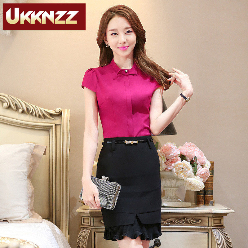 End custom brand ukknzz female suits business interview perfect beautician overalls uniforms hotel reception