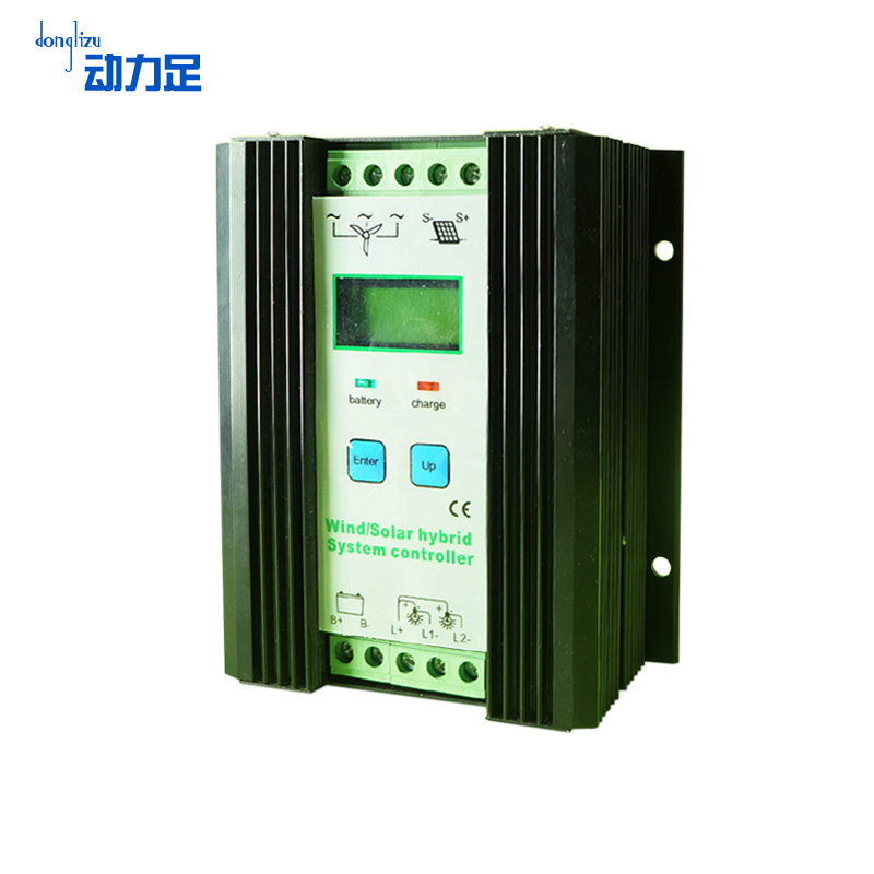 Enough power 24v800w wind and solar controller solar power system controller 50a charging mode control