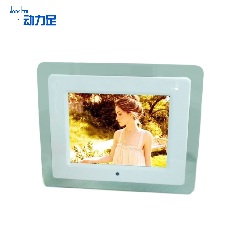 Enough power 8 digital photo frame electronic advertising machine alarm clock digital photo frame electronic album album photo frame creative phase
