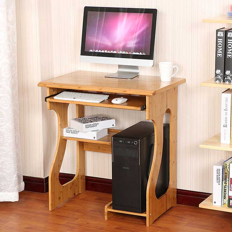 Get Ations Environmental Desktop Computer Desk Home Creative Bamboo Nan Minimalist Simple