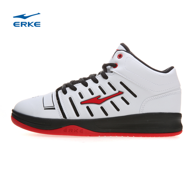 Erke basketball shoes dongkuan men's shoes 2016 high to help the new genuine concrete basketball shoes cushioning wearable