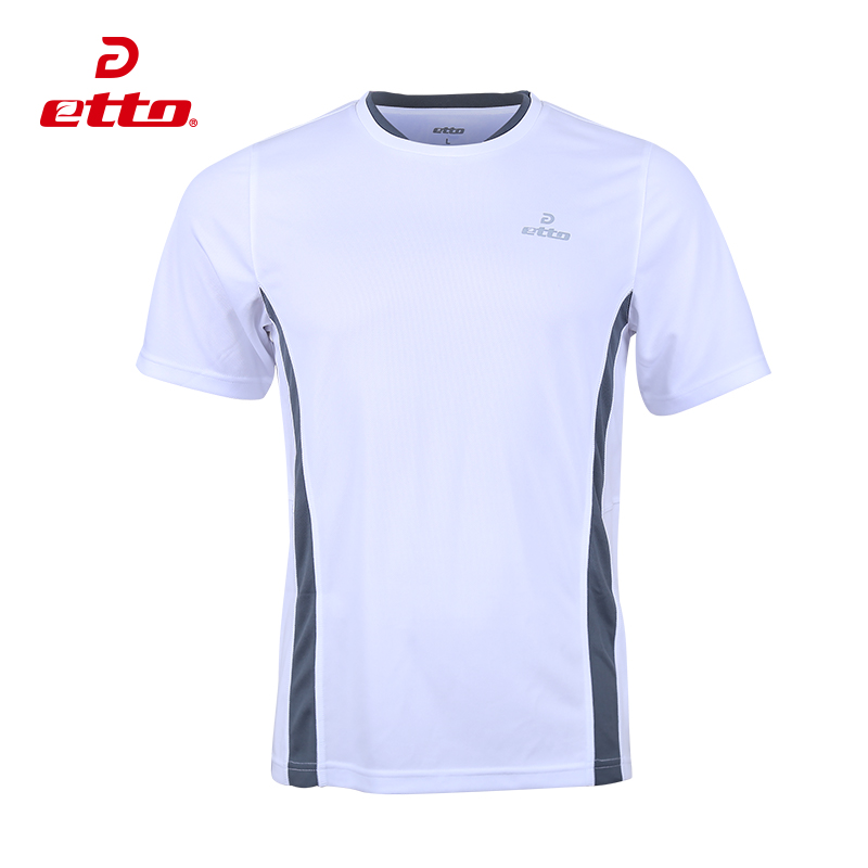 Etto english soccer jersey short sleeve men's soccer football training shirt tops short sleeve t-shirt SW1142
