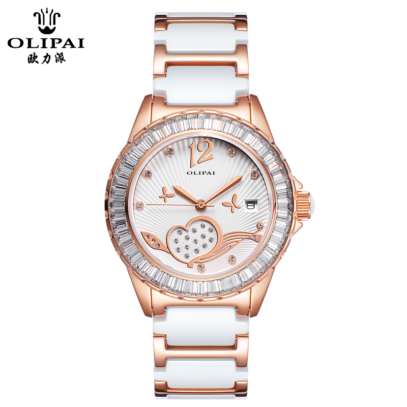 Eu force to send the watch quartz watch female form female form waterproof ceramic watches ladies watches women watch ms. female form