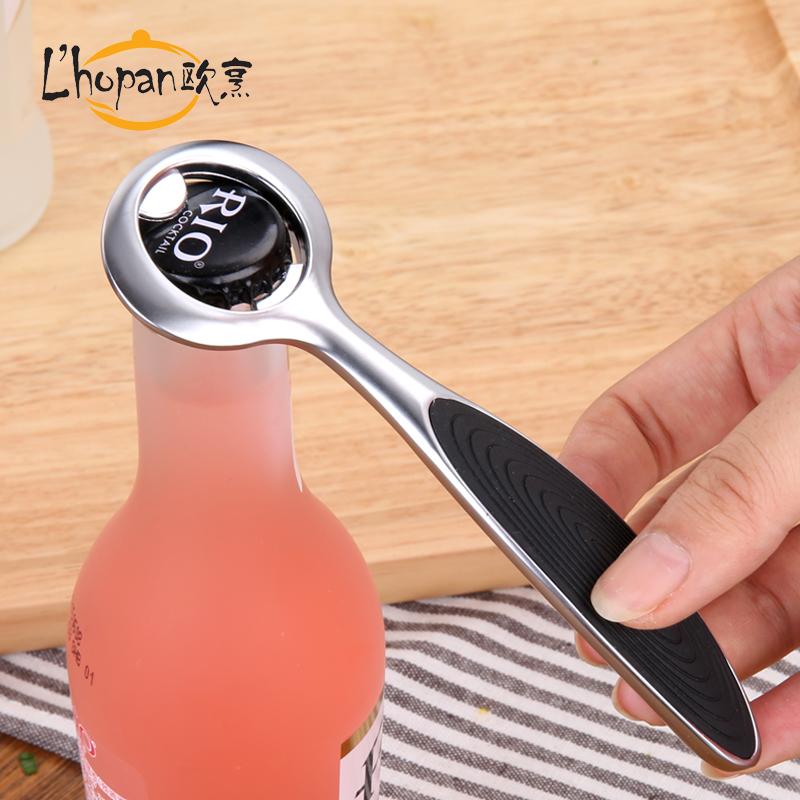 Europe and cooked beer opener creative bottle opener beer bottle opener zinc alloy wine opener bottle opener european minimalist personality