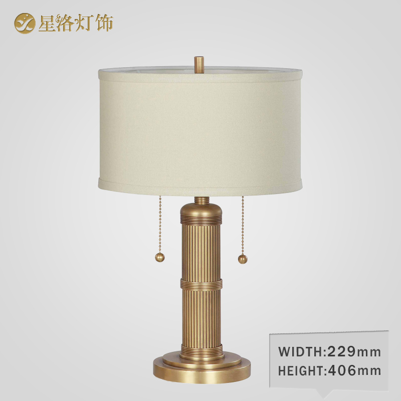 European copper lamps living room lamp bedroom bedside lamp handmade copper table lamp table lamp american pastoral jane european copper table lamp