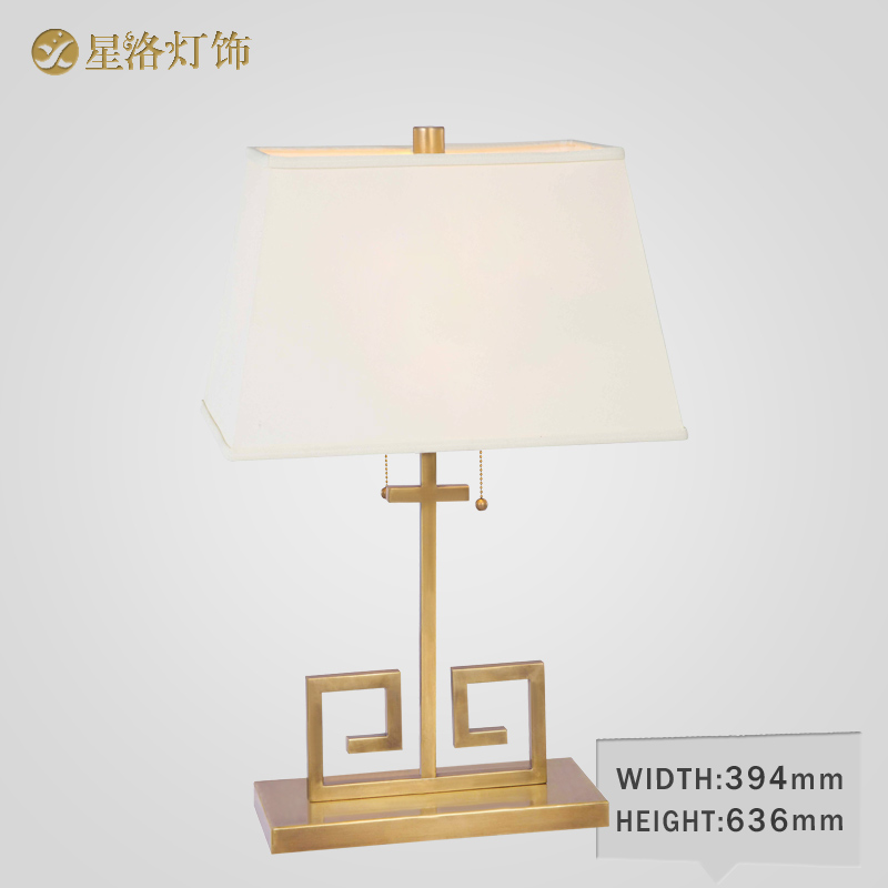 European copper table lamp american living room bedroom bedside lamp handmade copper table lamp table lamp new chinese jane european copper table lamp