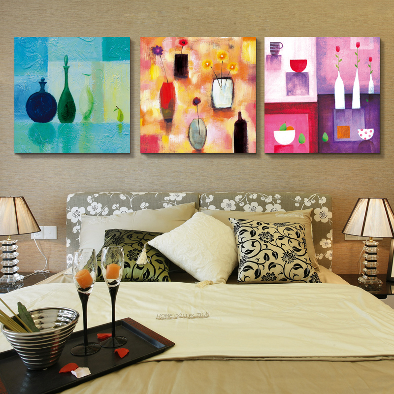 European frameless painting decorative painting the living room restaurant sofa backdrop painted mural paintings abstract oil painting american b127