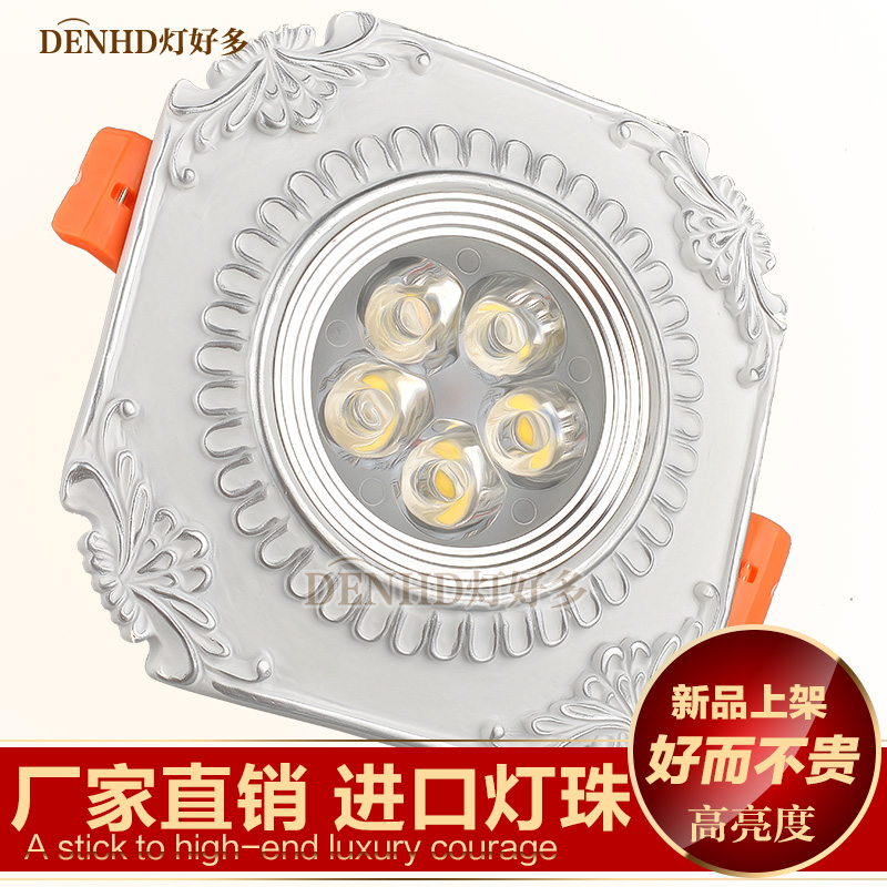 European led spotlights cob downlight ceiling mediterranean retro antique living room ceiling lamp aisle lights porch lamp