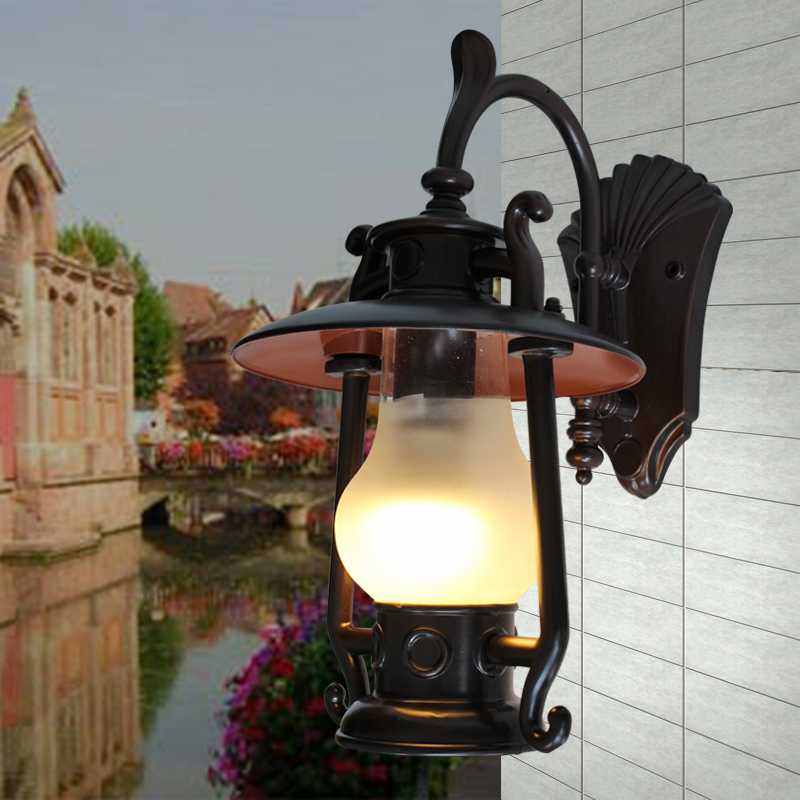 European wall lamp outdoor wall lamp wall lamp modern chinese wall lamp wall lamp waterproof outdoor lights garden lights landscape positronic station wall lamp