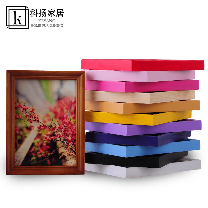 European wood frame swing sets 5 inch 6 inch 7 inch 8 inch 10 inch 11 inch 12 inch 16 inch 20 creative photo frame wall
