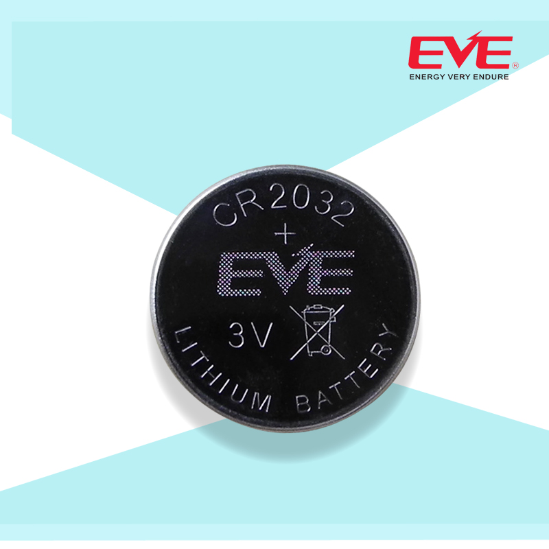 Eve wei li billion type lithium coin cell battery cr2032 lithium coin battery