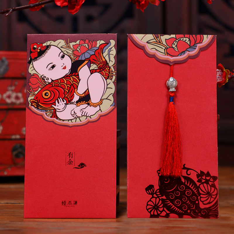 Every year more than 2016 creative new year red envelopes red packets chinese new year red envelopes chinese new year red envelopes red envelopes bags 10 loaded customization