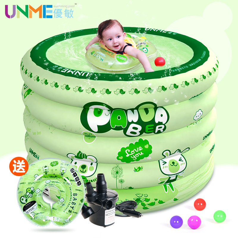 Excellent sensitive baby infants and young children newborn baby swimming barrels home with a thick round inflatable baby pool baby pool paddling pool