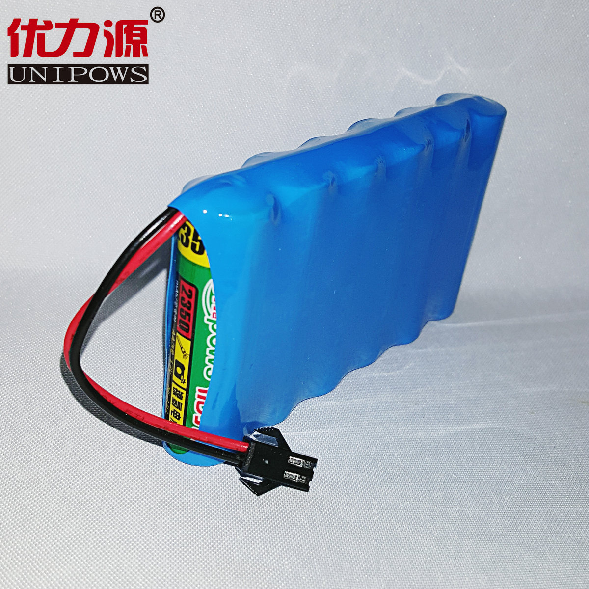 Excellent source of 2350 v battery toy car battery 5 mah single row combination with sm plug