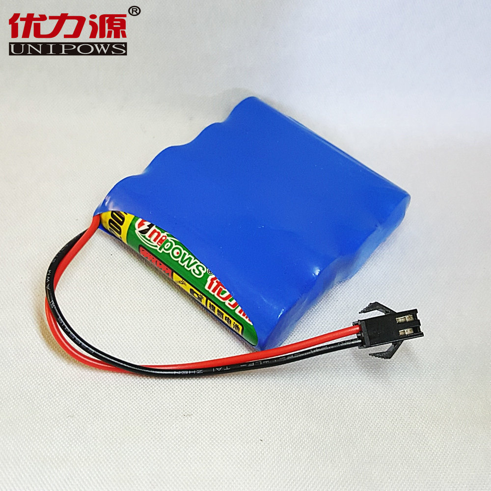 Excellent source of 5 v battery pack toy car battery aa3200mah single row combination with sm head