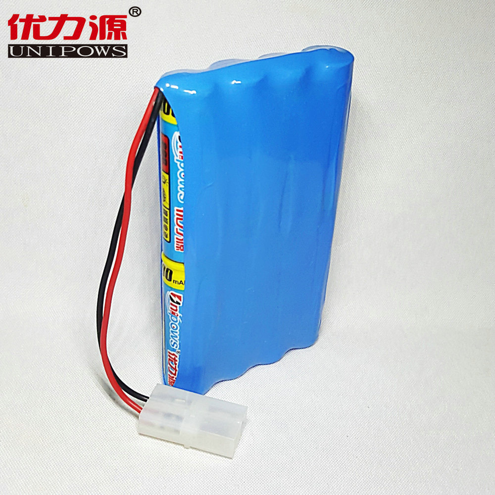 Excellent source of battery 2350 mah 5 v battery toy car down four combination with 2a plug section