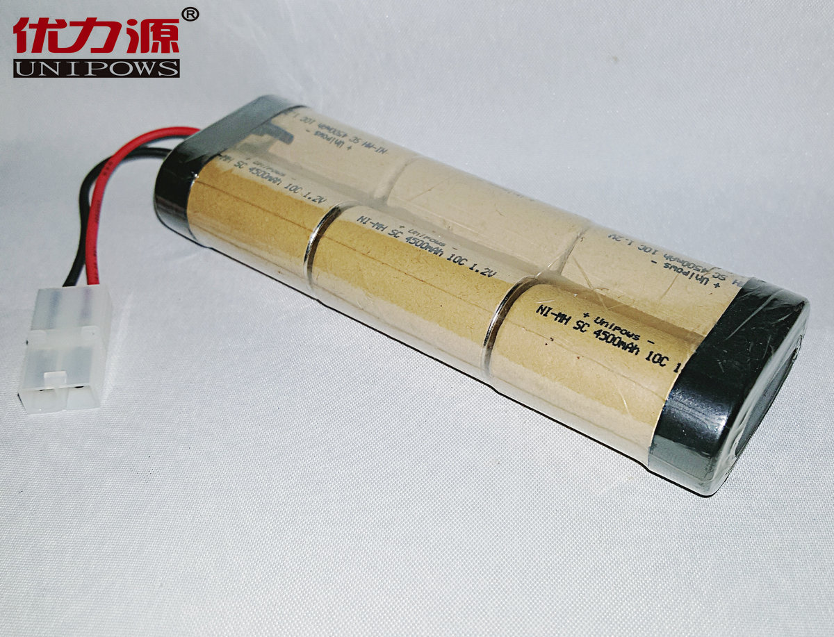 Excellent source of battery 7.2v1700 mah ni-mh sc 4500 mah 10c high rate battery with 2a head double column
