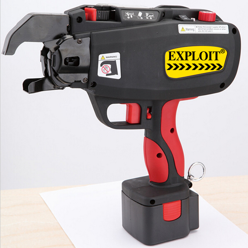 Exploit portable mini electric automatic steel strapping strapping machine EXPRT-40L