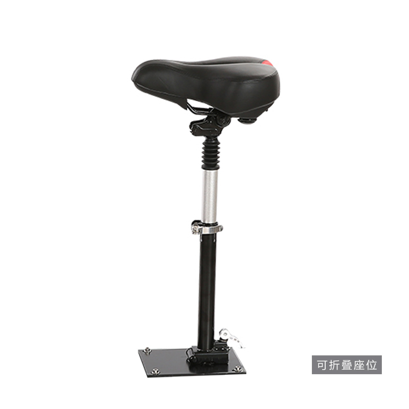 Exploration exposed electric scooters scooter seat electric car seat folding seat folding seat with damping