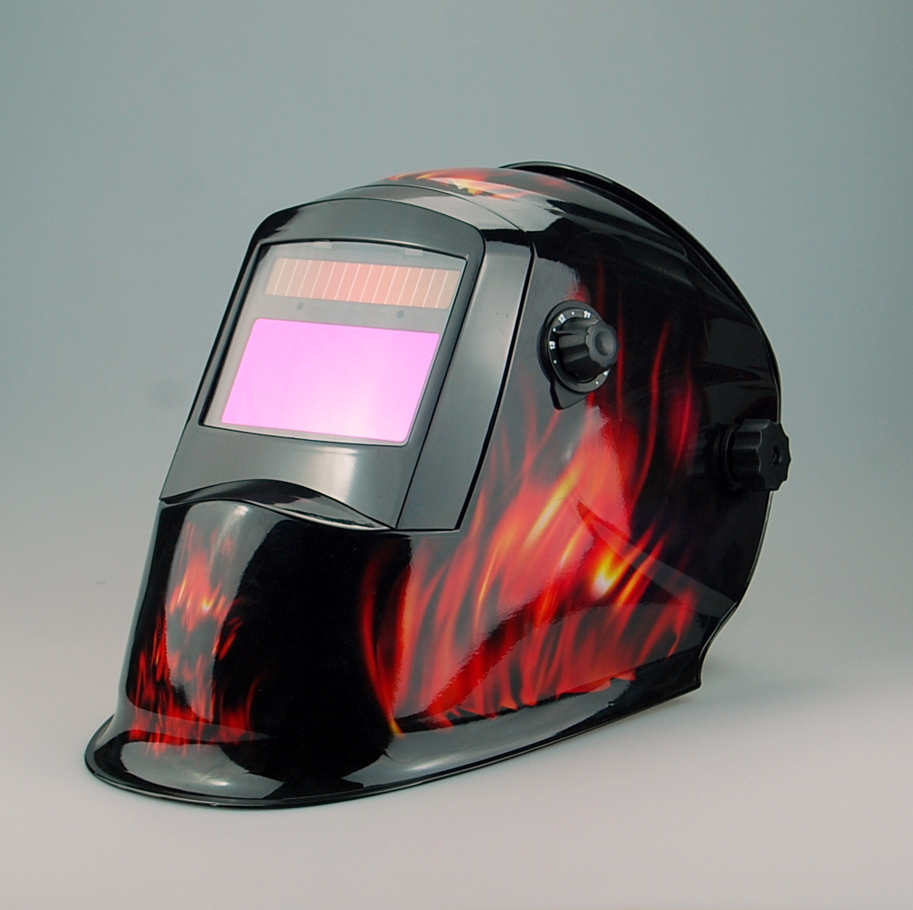 Exported to europe and high quality auto darkening welding helmet WH8711124