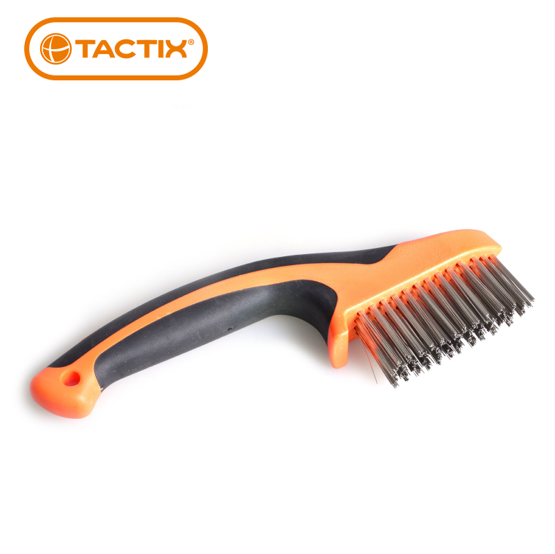Extension for tactix handle stainless steel wire brush brush brush the rust/diamond metal surface cleaning brush