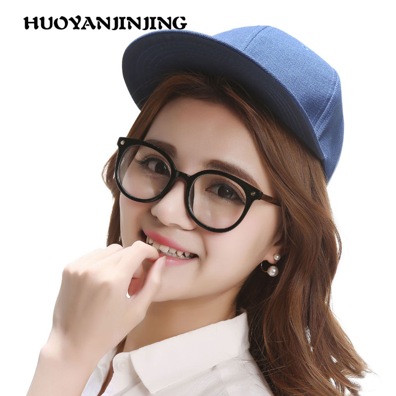 Eyes radiation glasses computer mirror male and female models fatigue plain mirror goggles eyepiece round frame can be equipped with myopia