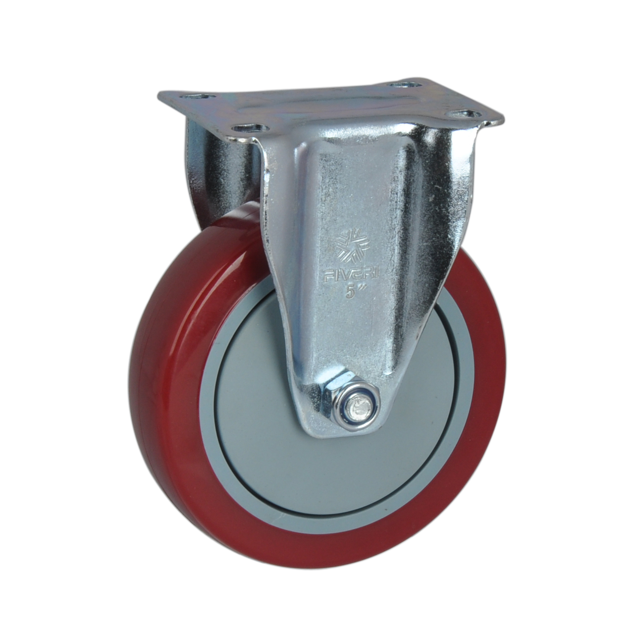 Fa furui medium-sized 4-inch directional 5 polyurethane plastic core of high strength (pp + tpu) casters 5005A-956