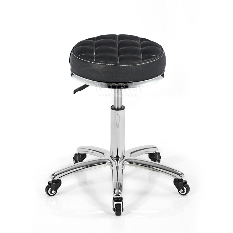 Factory direct hairdressing salon stool great work/large industrial chair/master chair/stool master/haircut stool/technician stool Take a good sense