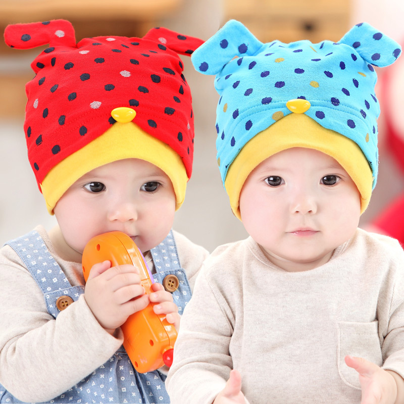 Fall and winter baby hat baby hat hat korean infants and young children hedging newborn baby hat for men and women warm hat cap tire