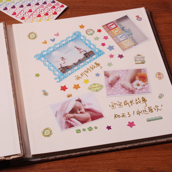Family album this album album diy manual paste style film universal 5 inch 6 inch 7 inch baby couple Alumni