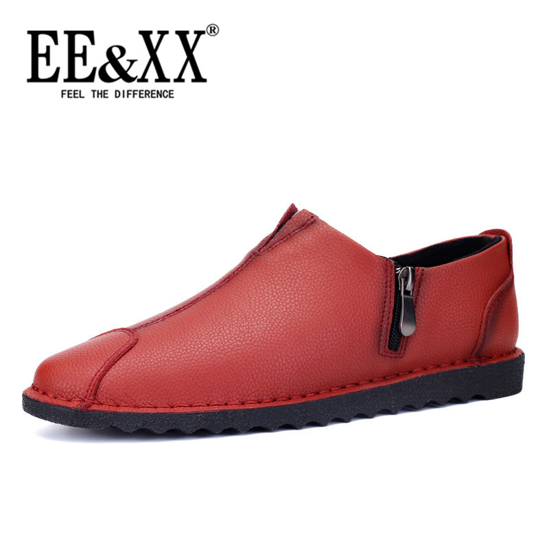 Fashion new korean version of EEXX2016 hyah car business low shoes breathable men's casual shoes lazy shoes 5485