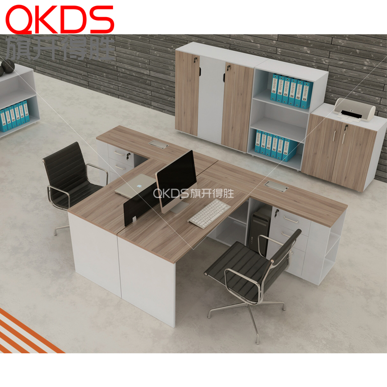 Fashion simple combination of modern office furniture screen desk staff office furniture desk staff 2/4 people