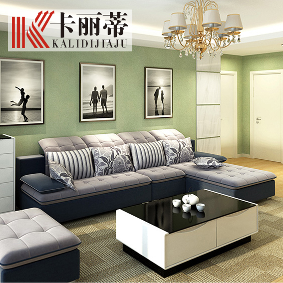 Fashion simple fashion living room features a sofa corner sofa removable and washable fabric sofa fabric sofa furniture