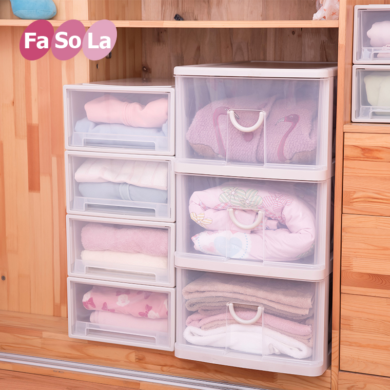Fasola thick plastic drawer storage cabinets baby baby wardrobe chest of drawers cabinet finishing cabinet storage lockers for children